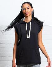 Women`s Oversized Sleeveless Hoodie